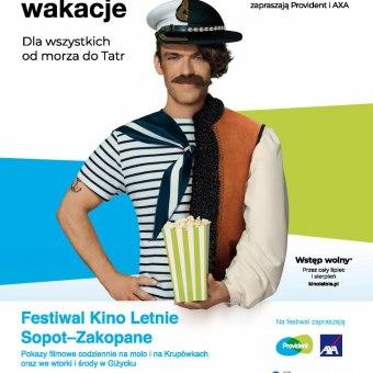 """Kino Letnie Sopot - Zakopane 2019 / film """"Stulatek, który wyskoczył przez okno i zniknął"""""""