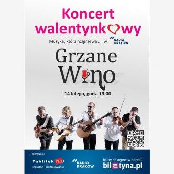 Koncert Walentynkowy zespołu Grzane Wino