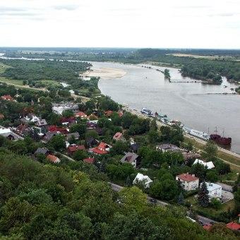 Port jachtowy w Kazimierzu Dolnym