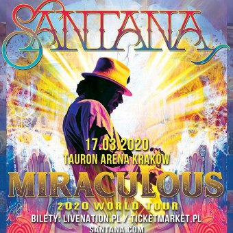 Santana Miraculous 2020 World Tour - koncert
