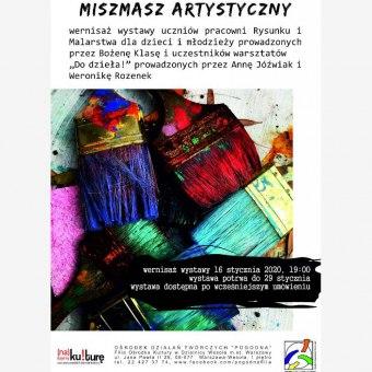 Wernisaż wystawy - Miszmasz artystyczny