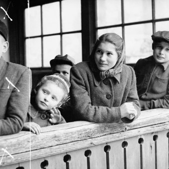 """Wystawa """"Chłopi, rolnicy, włościanie. Fotografie Jerzego Konrada Maciejewskiego z lat 40. i 50. XX w."""""""
