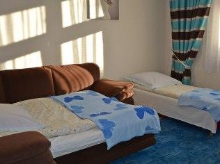 pokój 2-3 osobowy, od strony zachodniej