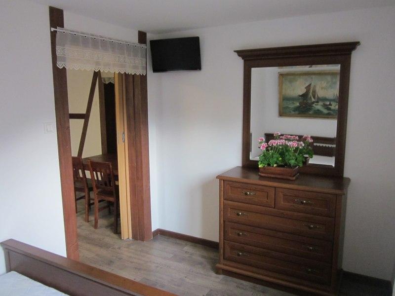 Apartament I - sypialnia