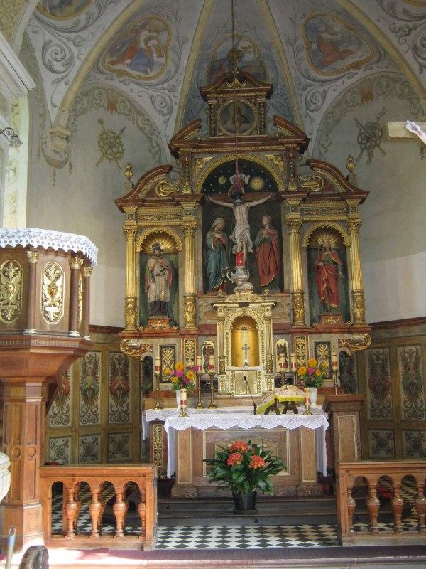 Ołtarz w naszym kościele