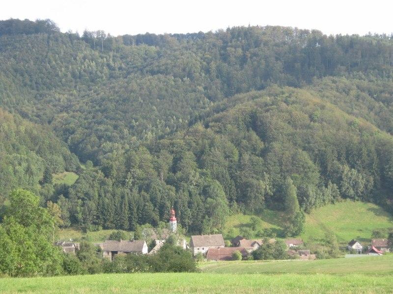 Wieś - widok ogólny