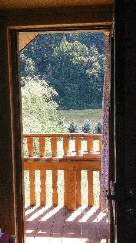 Domek z kominkiem oraz noclegi Agnes w Załużu