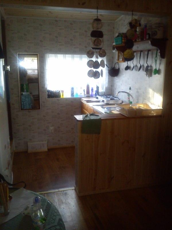 część pomieszczenia kuchennego