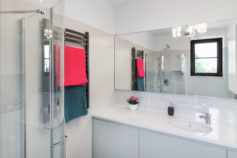Apartament z tarasem- łazienka