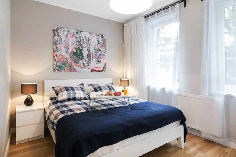 Apartament Delux- sypialnia dwuosobowa