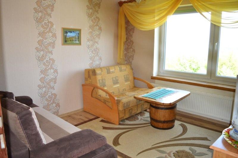 Pokoj 2 osobowy z lazienka z widokiem na jezioro