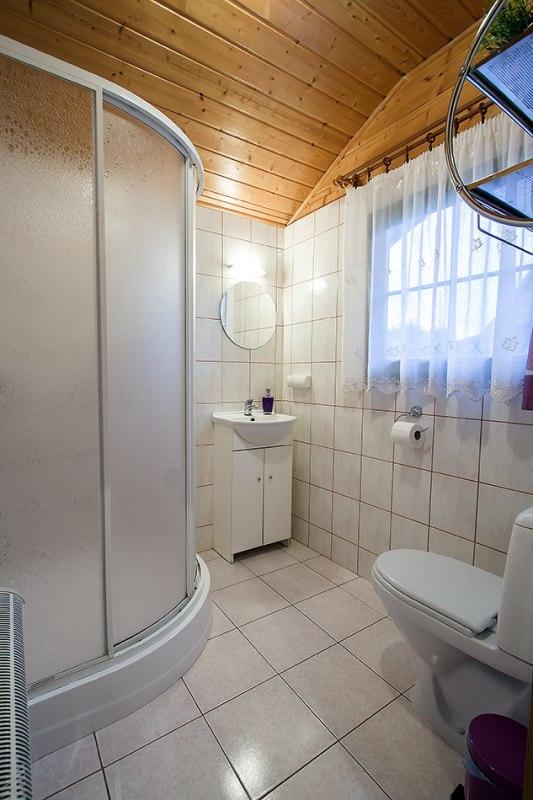 Domek typu B łazienka