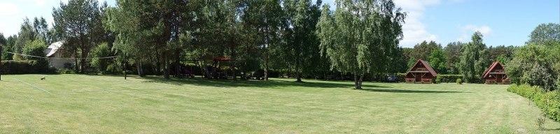Działka panorama