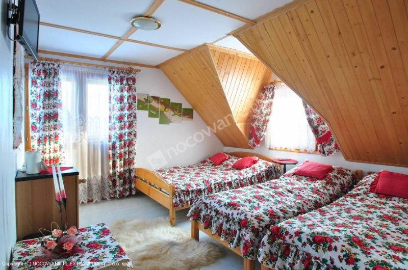 Pokój w stylu góralskim