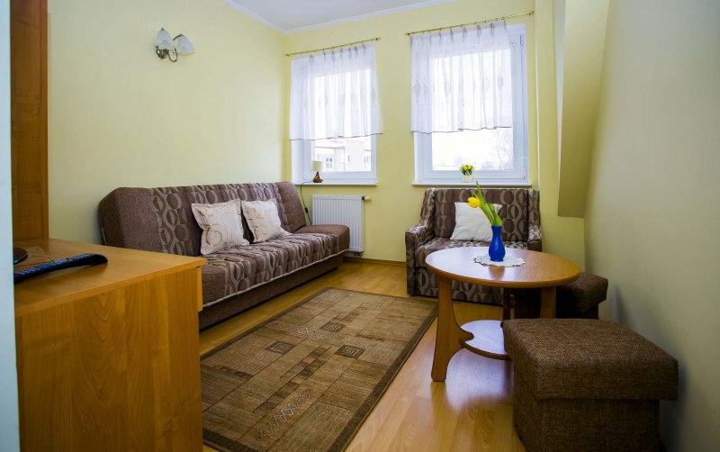 dwa pokoje