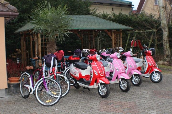Rental Scooter + Bycikle