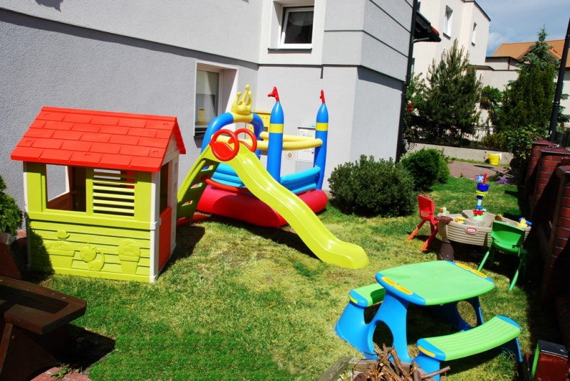 Plac zabaw dla milusińskich