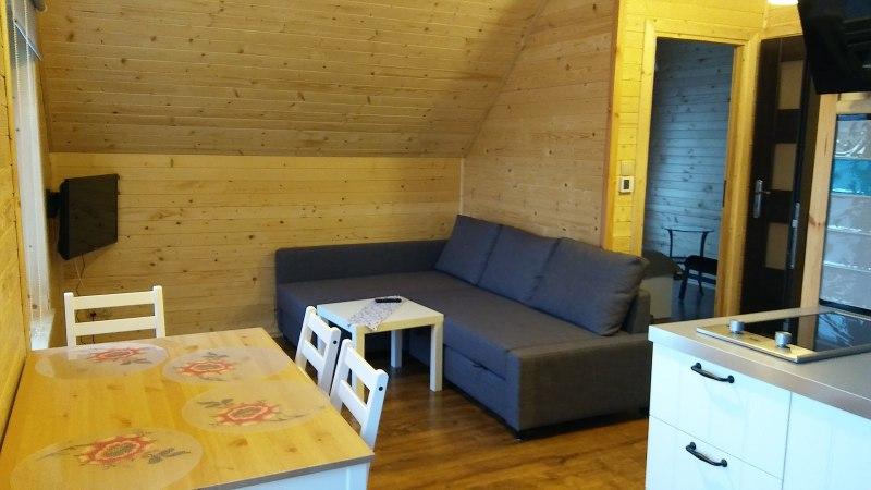 Kącik wypoczynkowy - apartament 1