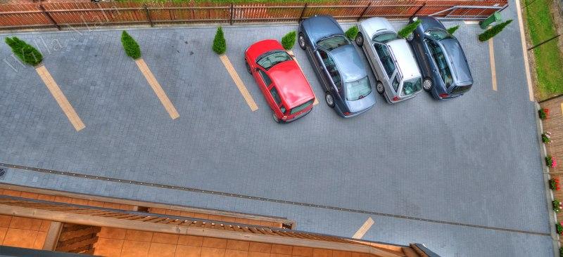 Willa Mała parking