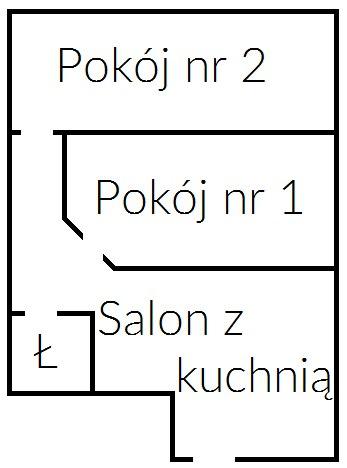 Mieszkanie 1, schemat