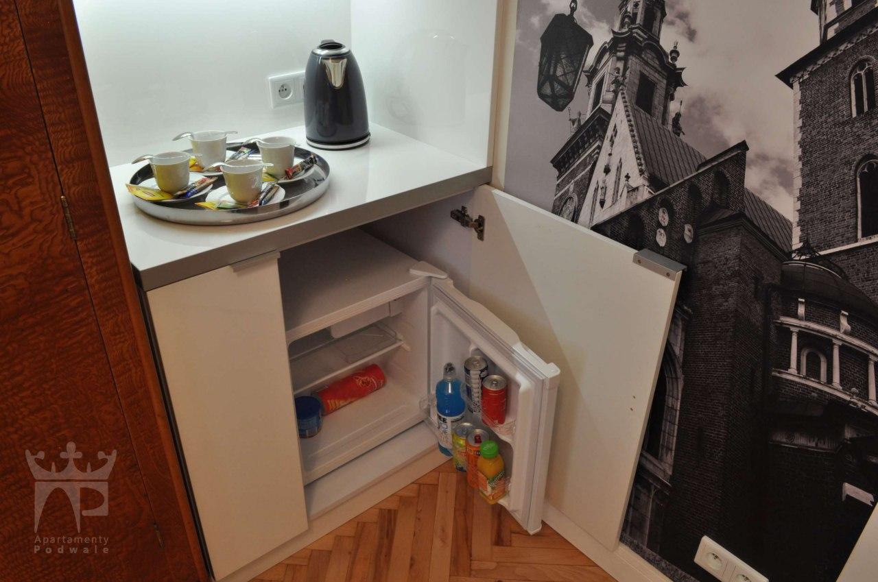 aneks kuchenny, lodówka