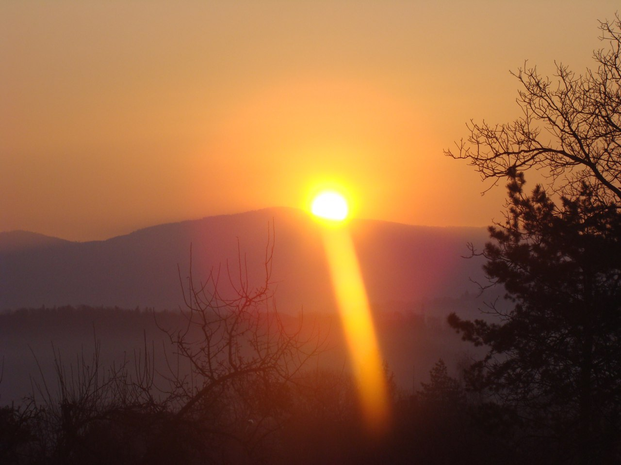 Nasze widoki - wschód słońca