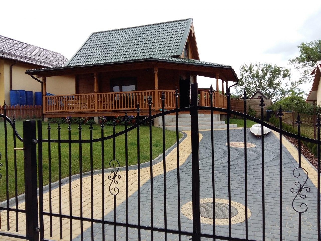 Domek Letniskowy & domek z kominkiem nad jeziorem