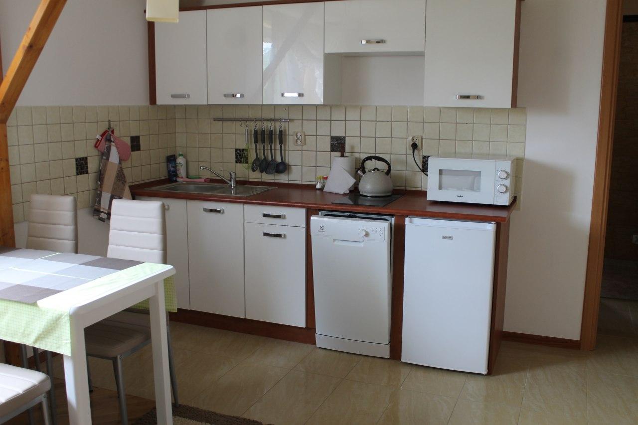 Kuchnia w apartamencie.