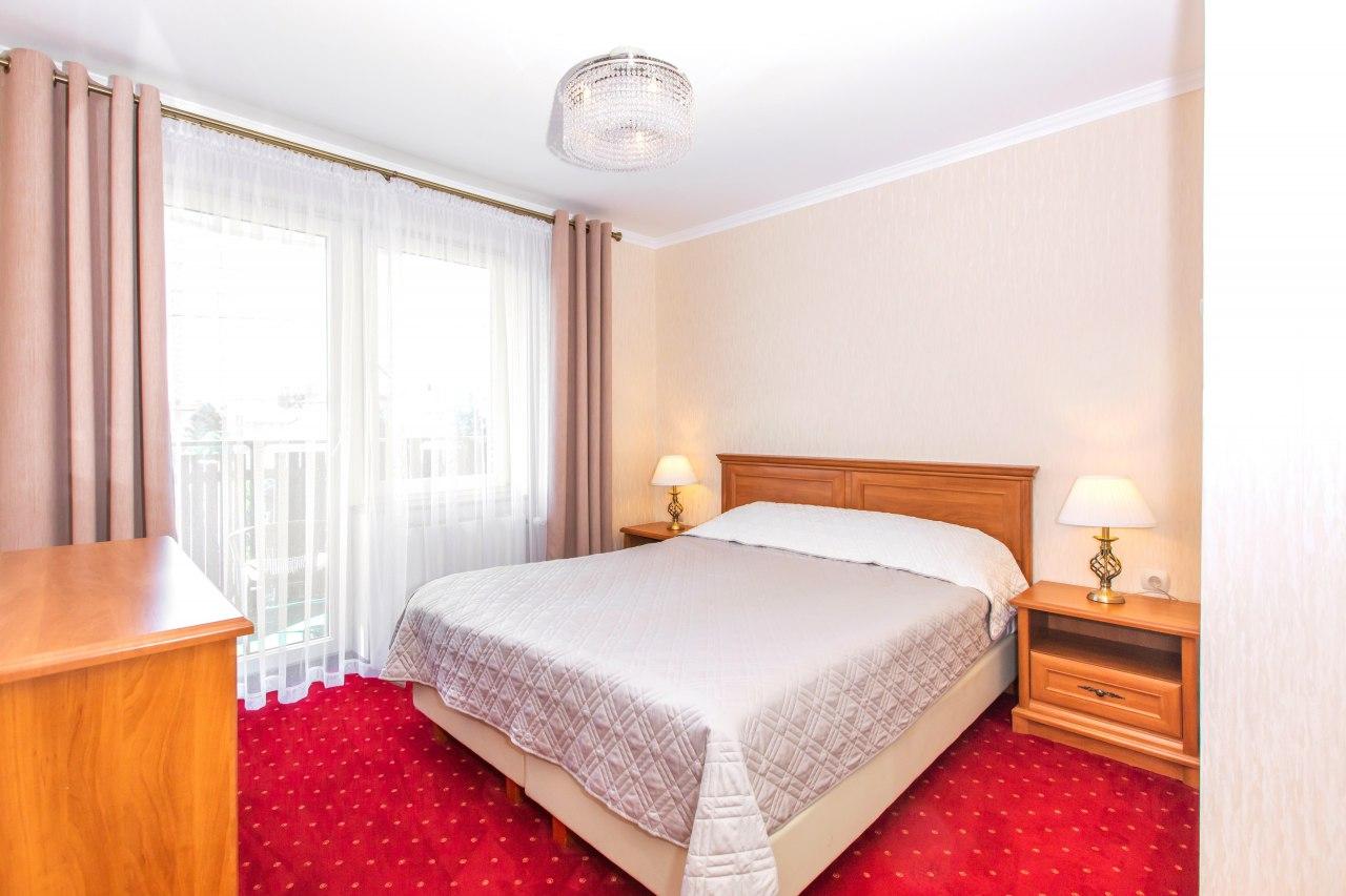 Sypialnia apartament 4 osobowy