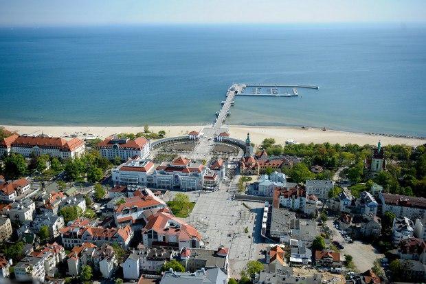 Duży Apartament Haffner- Sopot centrum przy plaży