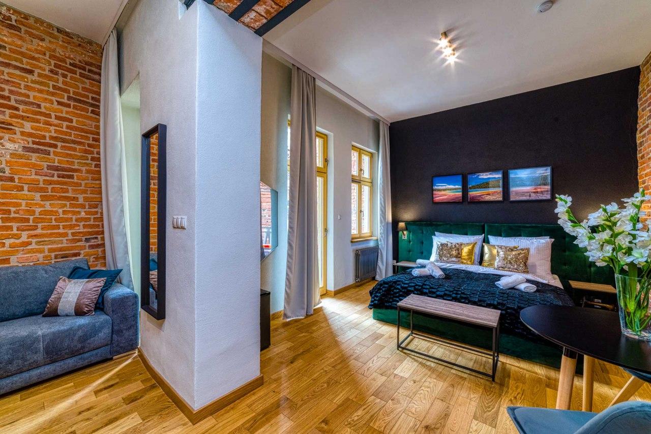 Pokój Gold - Aparthotel Delta Boutique
