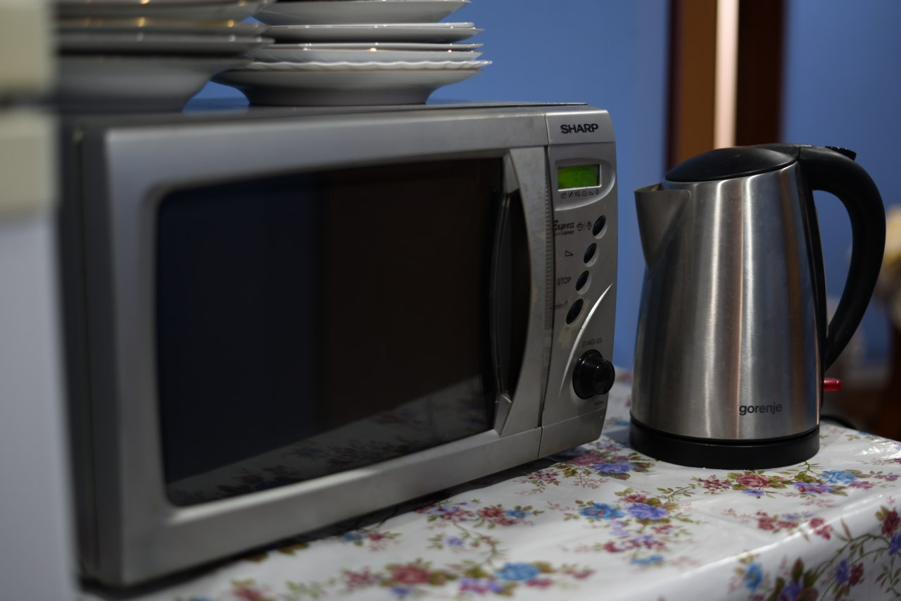 Miejsce do parzenia kawy, herbaty