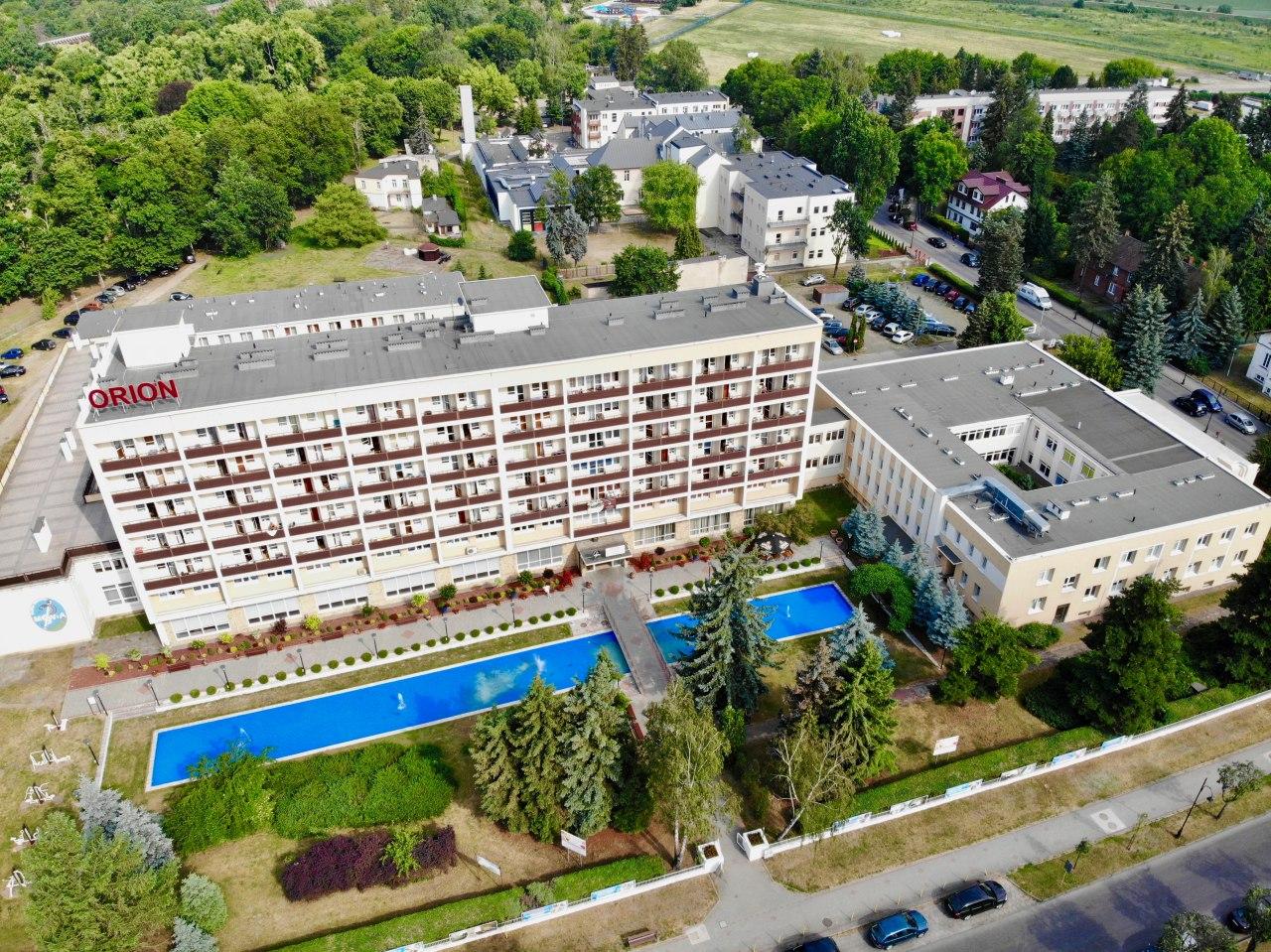 """SP ZOZ Sanatorium Uzdrowiskowe MSWiA """"Orion"""", ul. Warzelniana 1,  Ciechocinek - Sanatoria, Uzdrowiska Ciechocinek » e-turysta.pl"""