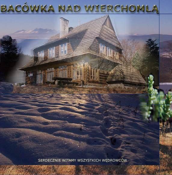 """Schronisko Turystyki Kwalifikowanej """"Bacówka PTTK nad Wierchomlą"""""""
