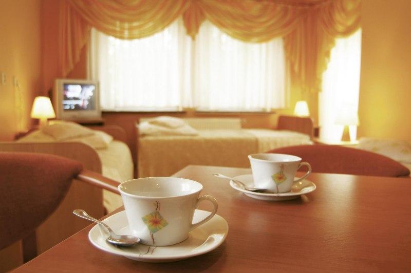 odpoczynek przy kawce