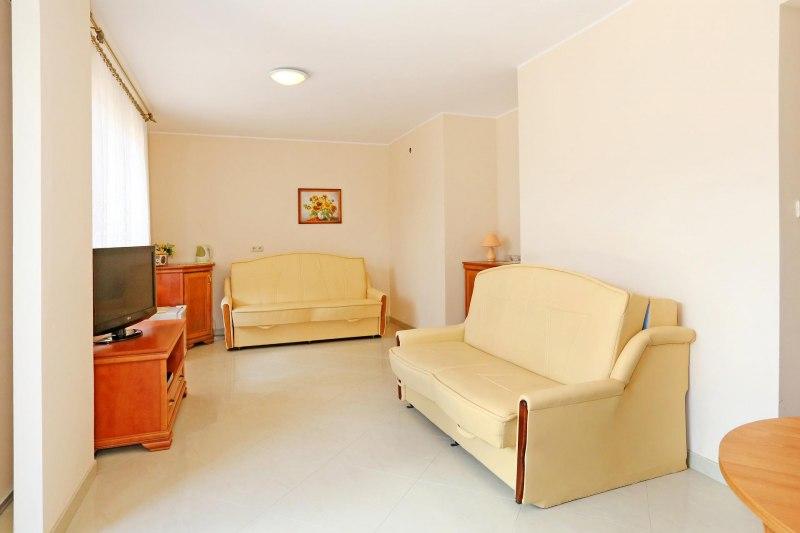 Apartament 5-osobowy pokój dzienny