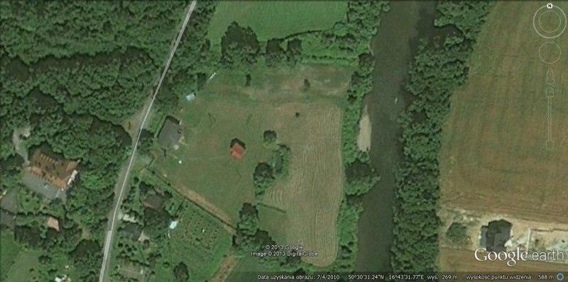 widok satelitarny naszej chrobrowki