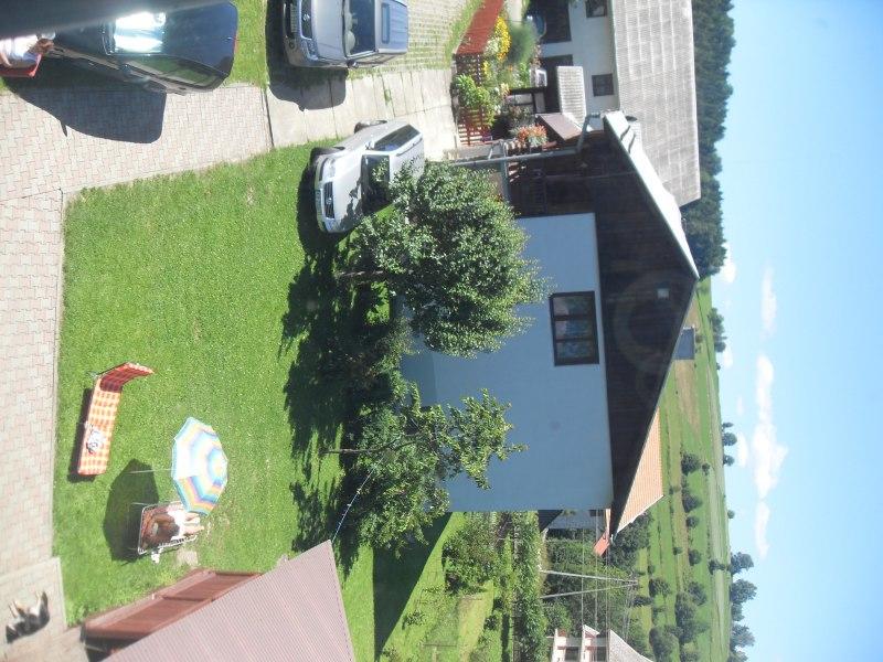 widok przed domem