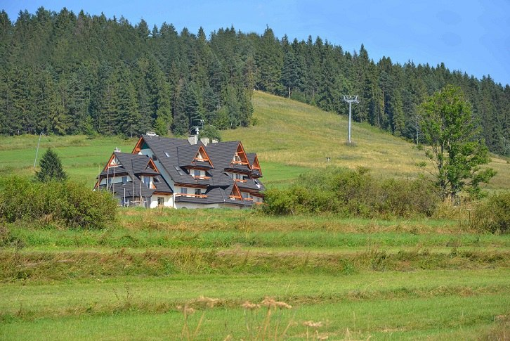 Montenero na tle stoku Koziniec