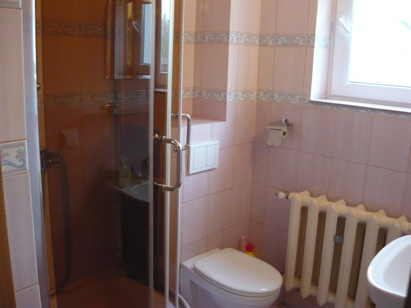 łazienka w pokoju 2