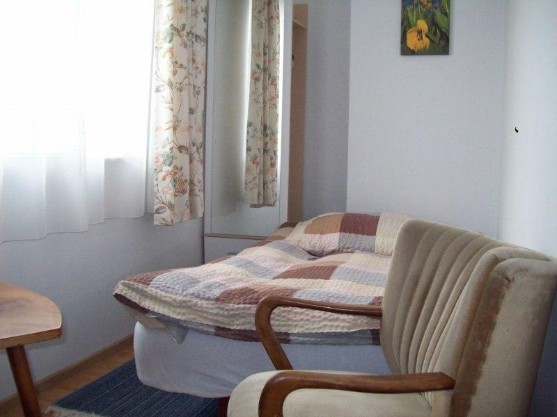 pokój 1-2 os. z podwojnym łóżkiem