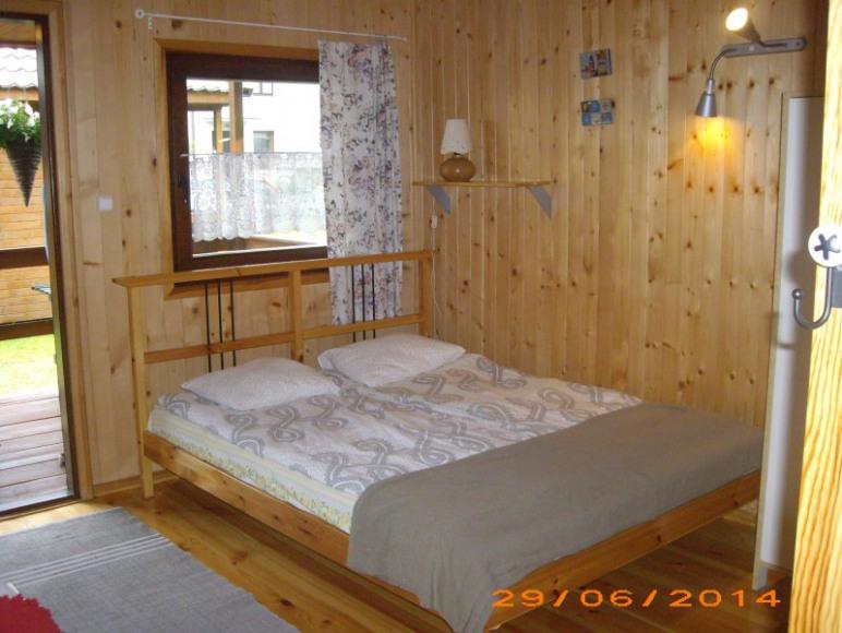 domek drewniany pow.otwarta