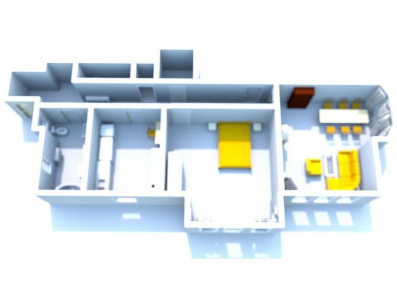 Plan apartamentu - Apartment's plan