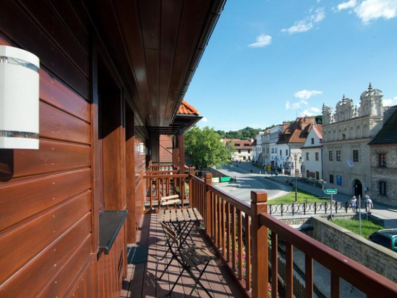 Widok z balkonów 6A i 6B