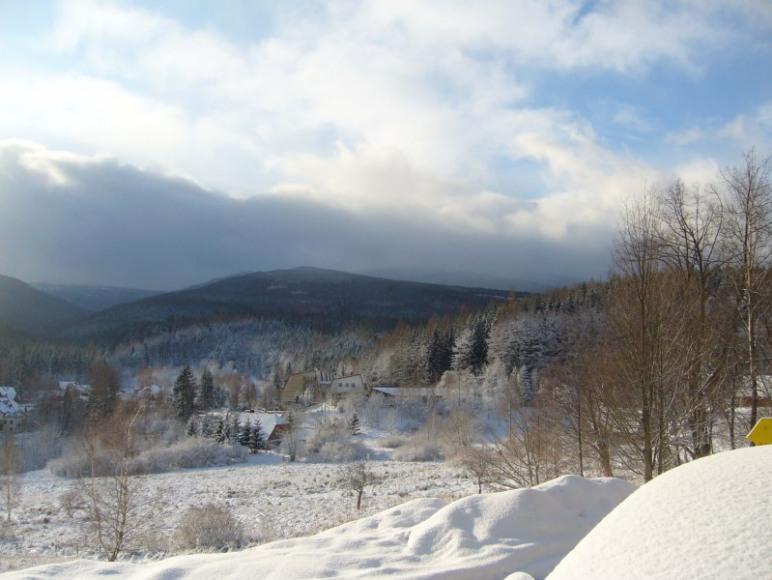 Zima w Domu nad Doliną
