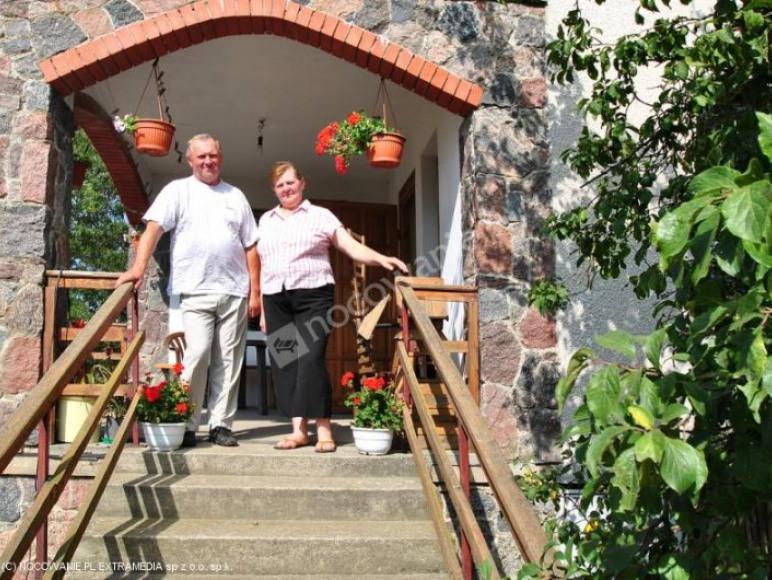 Gospodarze p. Maria i p. Andrzej czekają na gości :)