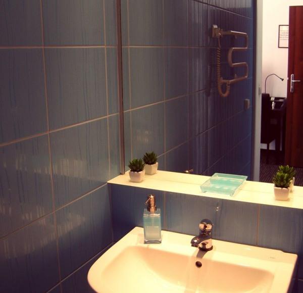 Łazienka pokoju Maestro.