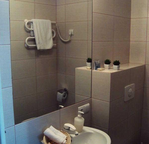 Łazienka pokoju Investor.