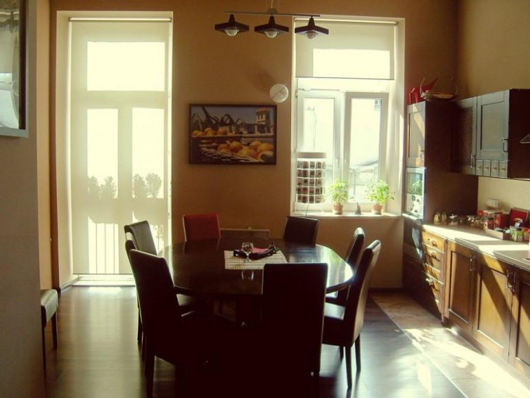 Kuchnia. Miejsce spotkań i wspólnych śniadań.