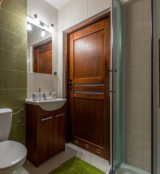 łazienka nr 2 w apartamencie
